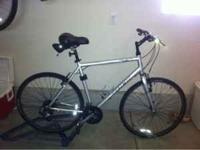 Trek fx 7 mens hybrid bike. 57cm, bontrager wheels,