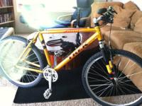 Trek/Bontrager 7000ZX mountain bike, but was made when
