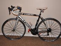 This is a very clean, fast and well kept bike. 56 CM