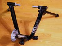A lightly used Trek CycleOps Wind Trainer Scratches