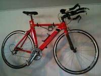 Used Trek Equinox, aluminum frame with Dura-Ace front &