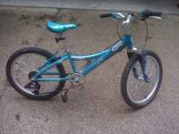 "20"" Girls Trek 6 speed bike in excellent condition."