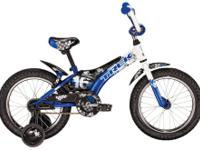 "The Trek Jet 16 Boy?s 2011 Kids Bike (16"" Wheel)."