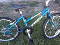 "Trek kids mountain bike Size 20"" Text only Mon-Fri"