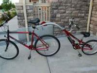 TREK kids tandem bike. Great for teaching your child