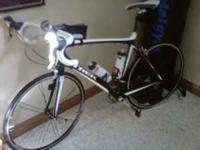 As new 2009 Trek Madone 4.7. This has about 200 miles