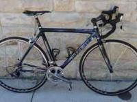 This is a used Trek Madone SL 5.9 10 speed in very nice