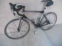 Like new 2008 Trek Madone 4.5, carbon fiber frame and