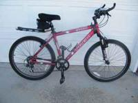 "Trek 3700 Mens Bike, 18"" Frame, 26"" wheels. Good"