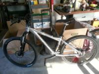 I have a Trek series 6 mountain bike for sale. Never