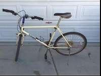 This mens Trek Mtn Bike is in good condition for its