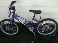 I have a childs bike by TREK for sale it needs a new