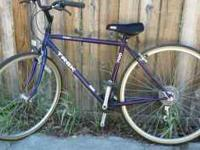 Blue Trek Multitrack 700 Series Bicycle - Rarely used -