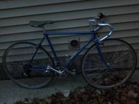 Trek road bike with bar end shifters. Needs minor