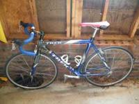 I'm selling my dad's Trek racing bike for $700/obo.