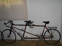 "TREK T200 ""FAST TRACK"" ROAD TANDEM-21- SPEED VERY LOW"