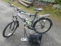 Trek Series 4 aluminum mountain bike - Hardly used.