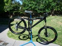 This is a Trek Session 77 DH Bike. It is in excellent