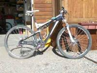 SuperFly100 Size large with a 2011 Frame Sram Xo,