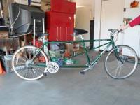 BICYCLE BUILT FOR TWO! TREK Tandem bicycle - original