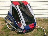 Trip Trailer/Stroller, rarely utilized, fresh.  Shall