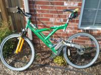Trek vrx full frame suspension mountain bike. Frame is