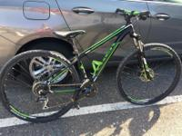 Trek Wahoo 15.5 frame, 29er mountain bike. Ridden only