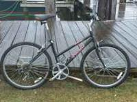 "Black Trek in very good condition 21 speed 26"" wheels"