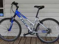 Ladies Trek Bicycle 840 good Condition one small tear