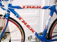 Good clean Trek roadway bike for sale.  Full carbon