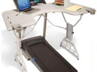 This TrekDesk Treadmill Desk has been barely used and