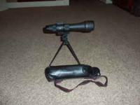 Trekker spotting scope 20-60 x 60. The unit comes with