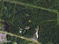 28 acre commercial lot with two HUGE outbuildings! Part