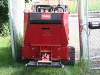"Trencher with OPERATOR FOR hire. TRENCHER DIGS 6"" x"