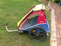 I have a Trex 2 seater bike trailer. I loved this