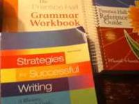 These 3 textbooks are required for English Composition