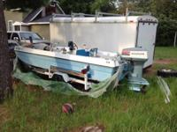 I have an early 80's 17ft trihule bass boat with a 50
