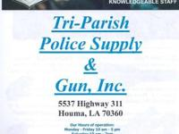 WWW.TRI-PARISHPOLICESUPPLY.COM.  We are open to the