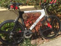 I have a lightly used triathlon bike which is in great