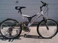"Selling a Triax mountain bike with 24"" wheels. In very"