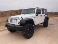 Deceived Out Lifted 2012 Jeep Wrangler 5k miles$32,500