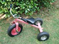 Children's heavy duty off road style Tricycle. This is