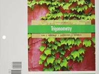 I am selling a loose leaf trigonometry textbook;