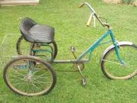 I have a trike bike E-Z Roee Traueeer. The bike was