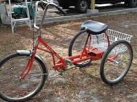 Trail Bike Tri-Cycle 1980 E-Z Roll Regal Trike New