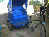 big trike bicycle for sale fixed it up looking to sale