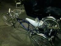 "Selling trike kit for 20"" low rider frame. With cce"