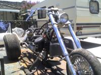 wild one ... with boxes of parts fenders shocks tanks