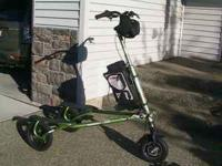 TRIKKE T12 WITH ELECTRIC MOTOR KIT. IT WILL GO UP TO 17