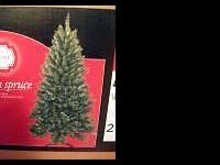 This listing is for a 6 ft. Artificial Dakota Spruce